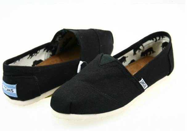 toms shoes black