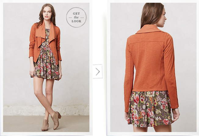 Anthropologie, Tavi Moto Jacket, $88.00