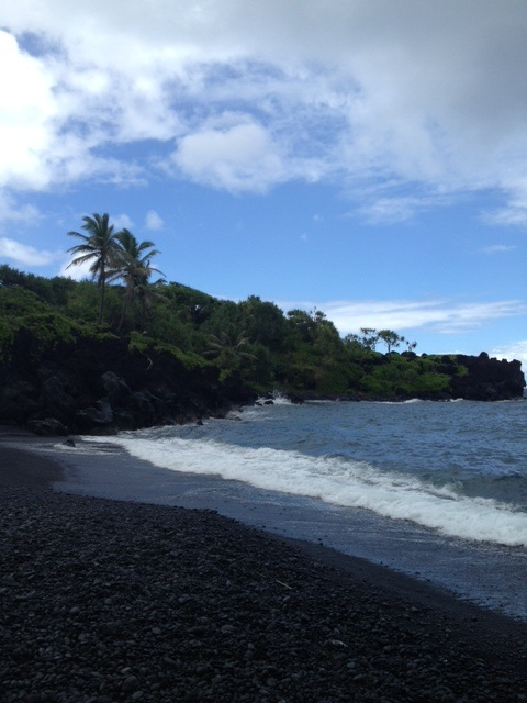 Maui, HI, Black Beach, Road to Hana