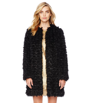 Michael Kors, Faux Fur Coat, $250