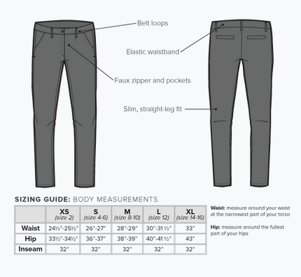 Gray Dress Pant Yoga Pants, $79.20