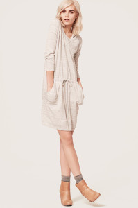 Lou & Grey Heathered Sweater Dress, 79.50, available at LOFT